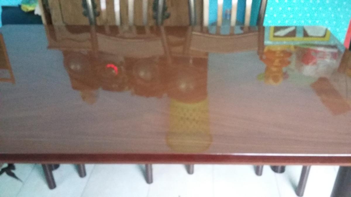 Comedor con seis sillas 7 en mercado libre for Comedor seis sillas