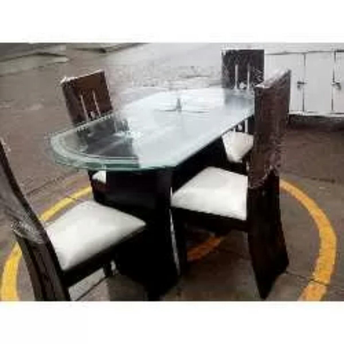 Comedor de 4sillas madera tornillo a 700 s 700 00 en mercado libre for Comedor 4 sillas madera