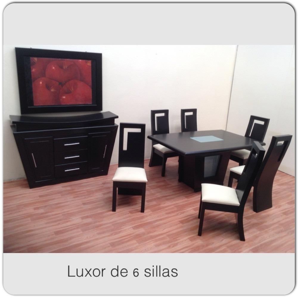 Comedor de 6 sillas 11 en mercado libre for Comedor 6 sillas usado
