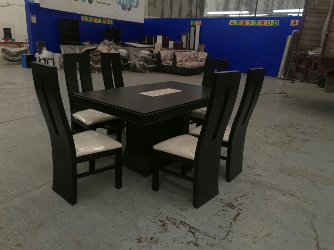 Comedor de 6 sillas 7 en mercado libre for Comedor 6 sillas