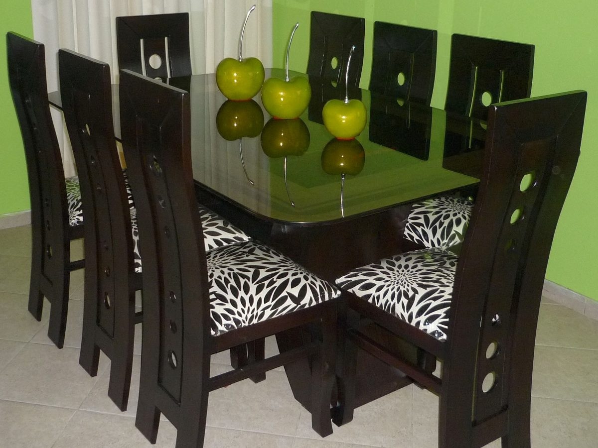 Comedor de 8 sillas precio insuperable s 999 99 en for Precios de comedores modernos
