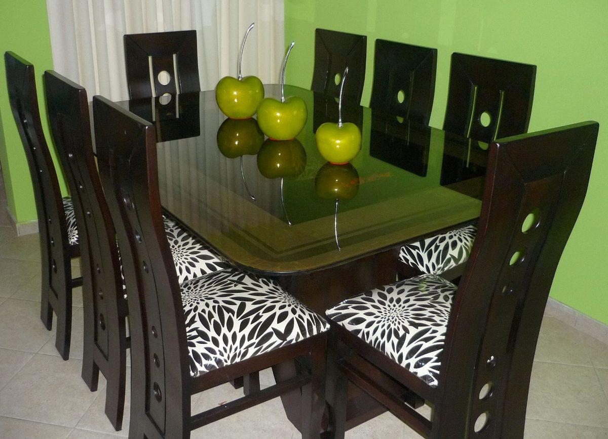 Comedor de 8 sillas precio insuperable s 999 99 en for Sillas para comedor precios