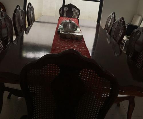 comedor de cedro 8 sillas