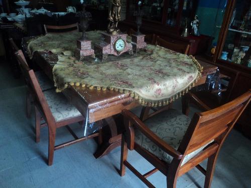 comedor de extensión 6 sillas