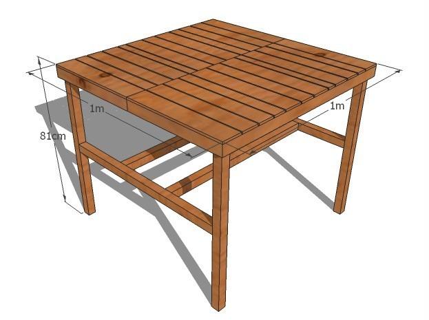 Comedor de madera para 4 personas mesa y bancas 3 000 for Mesa cristal 4 personas