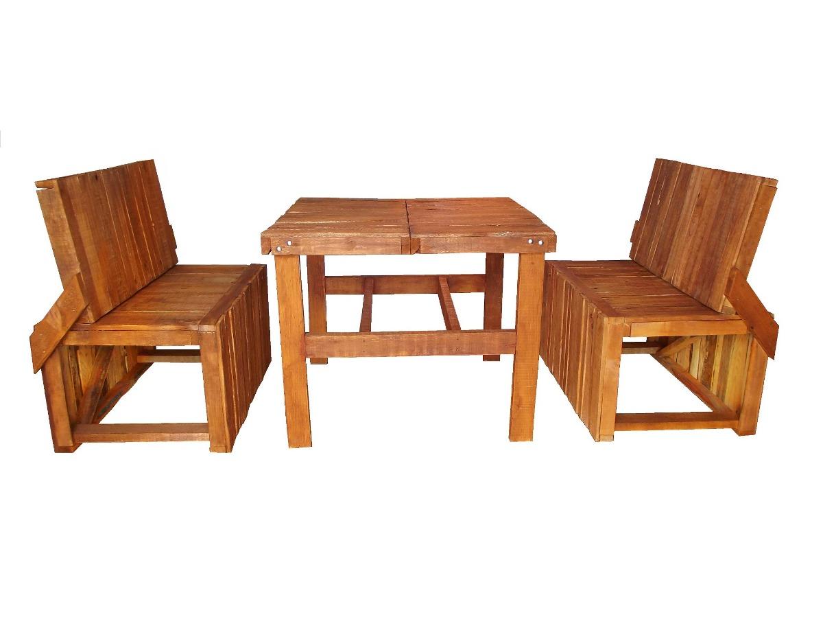 Comedor de madera para 4 personas mesa y bancas 3 000 for Comedor para 4