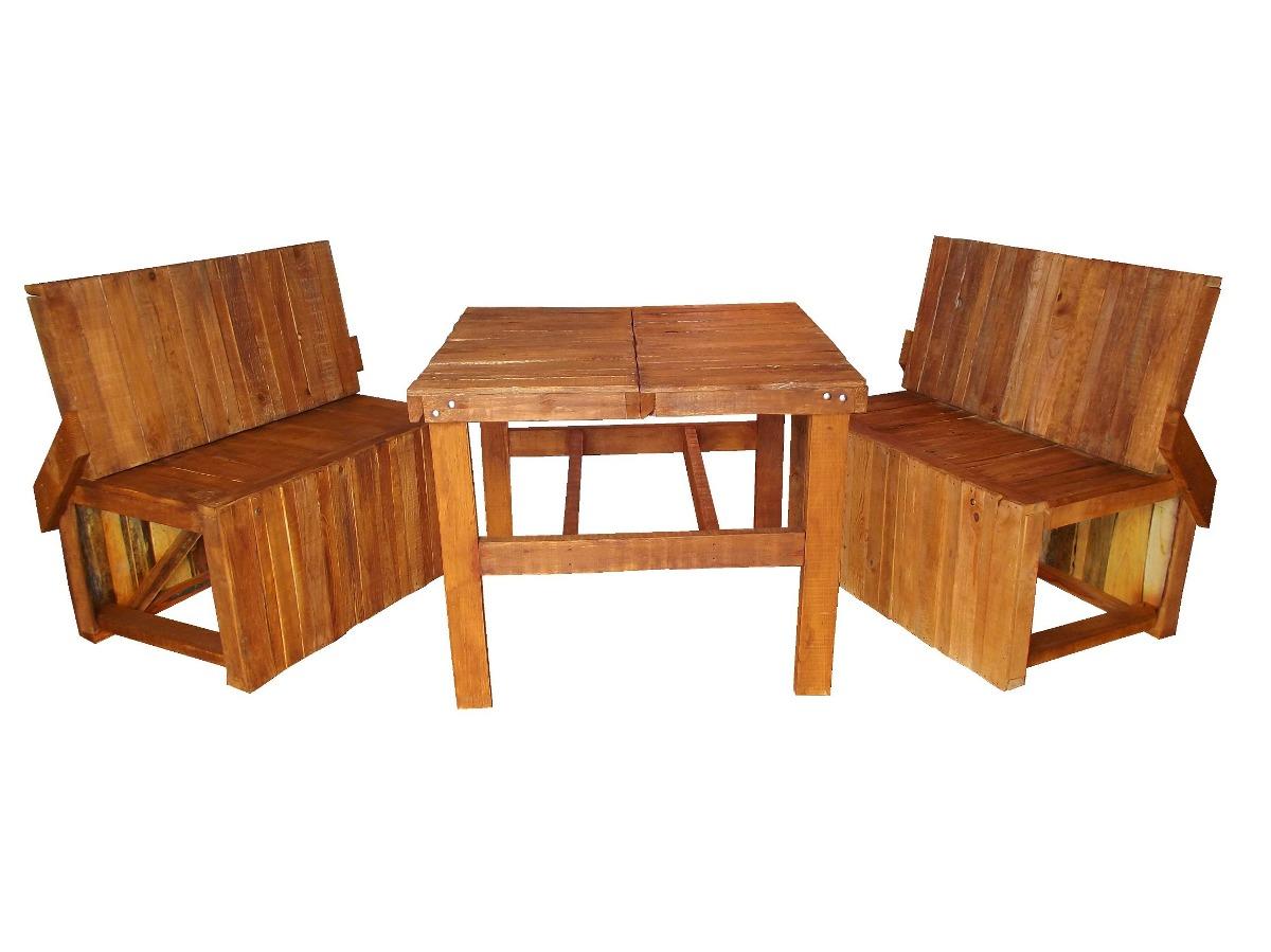 comedor de madera para 4 personas mesa y bancas 3 000