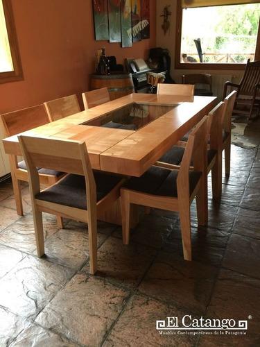 comedor de madera para 6, 8 y 10 personas
