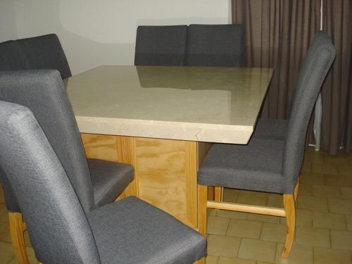Comedor de m rmol con bufetera y 8 sillas 15 en for Comedor de marmol 8 sillas precio