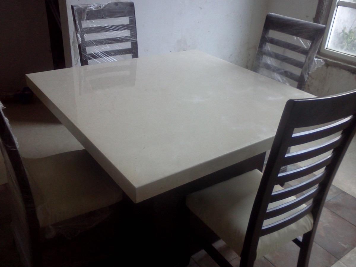 Comedor de marmol crema marfil 4 en mercado libre for Marmol color marfil