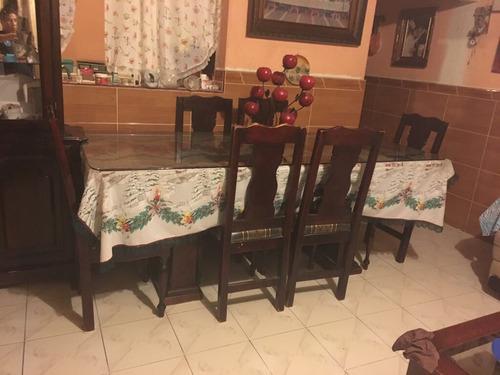 comedor de seis sillas