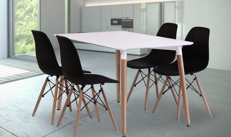 Comedor Diseño Moderno Importado Eames 4 Puestos - $ 950.000 en ...