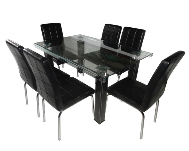Comedor elegance con 6 sillas 9 en mercado libre for Comedor 6 sillas coppel