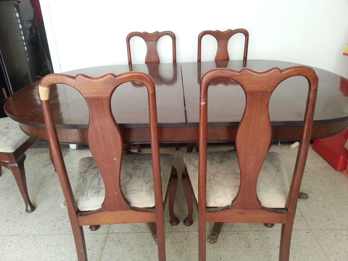 Comedor en caoba sillas para restaurar y tapizar bs - Sillas para restaurar ...