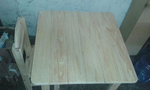 comedor en madera de pino