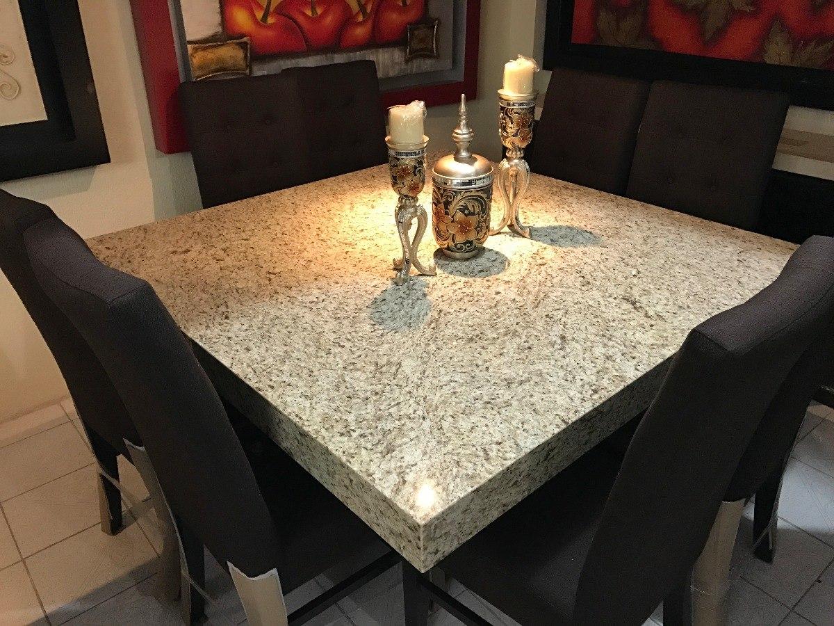 Comedor granito exotico 8 sillas a escojer modelo 58 for Comedores en oferta en monterrey