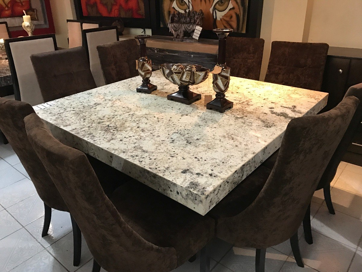 Comedor granito exotico sillas a escojer no51 39 000 for Comedores usados baratos