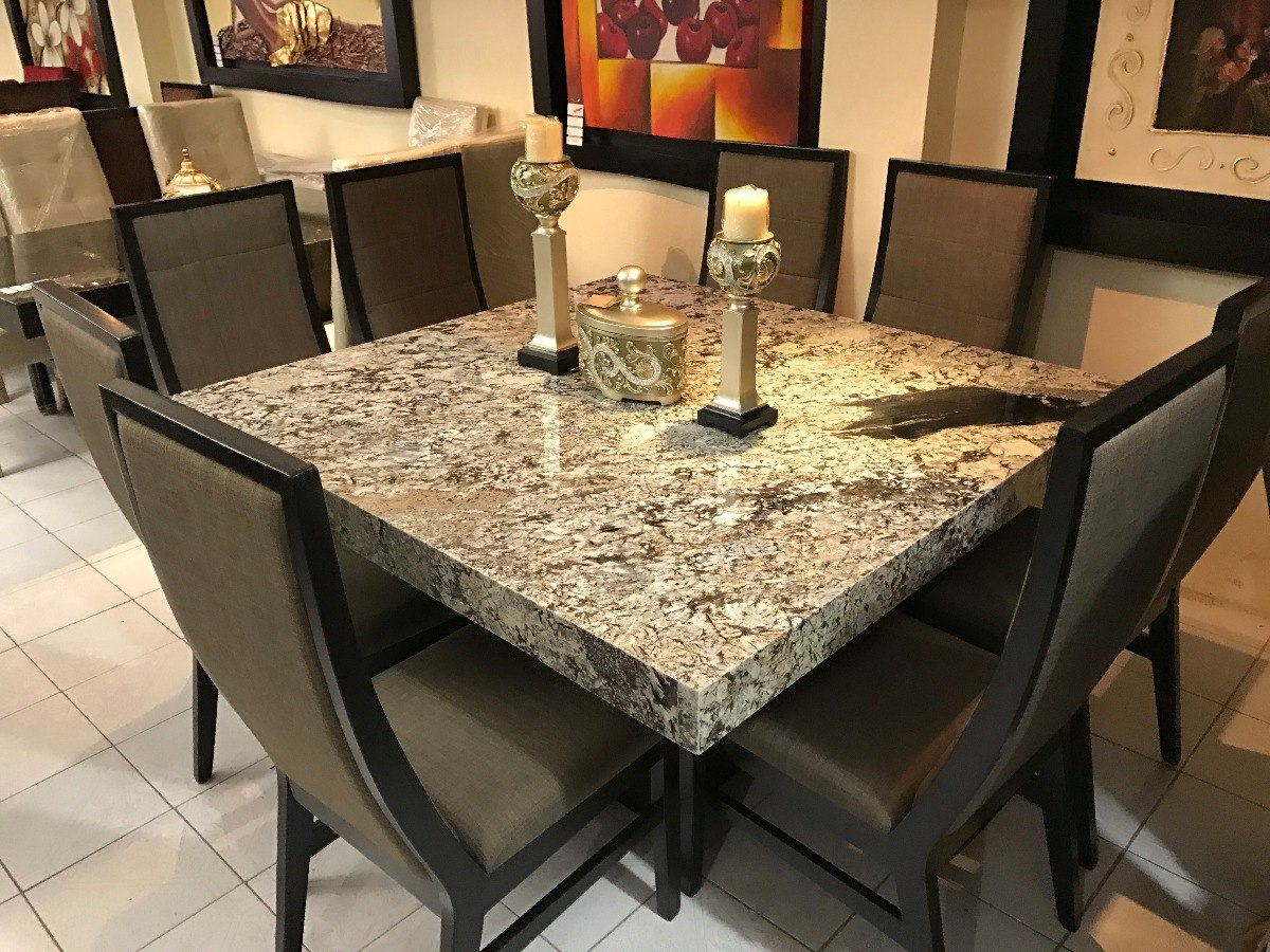 Comedor granito gris exotico muy elegante modelo 59 for Comedores en oferta