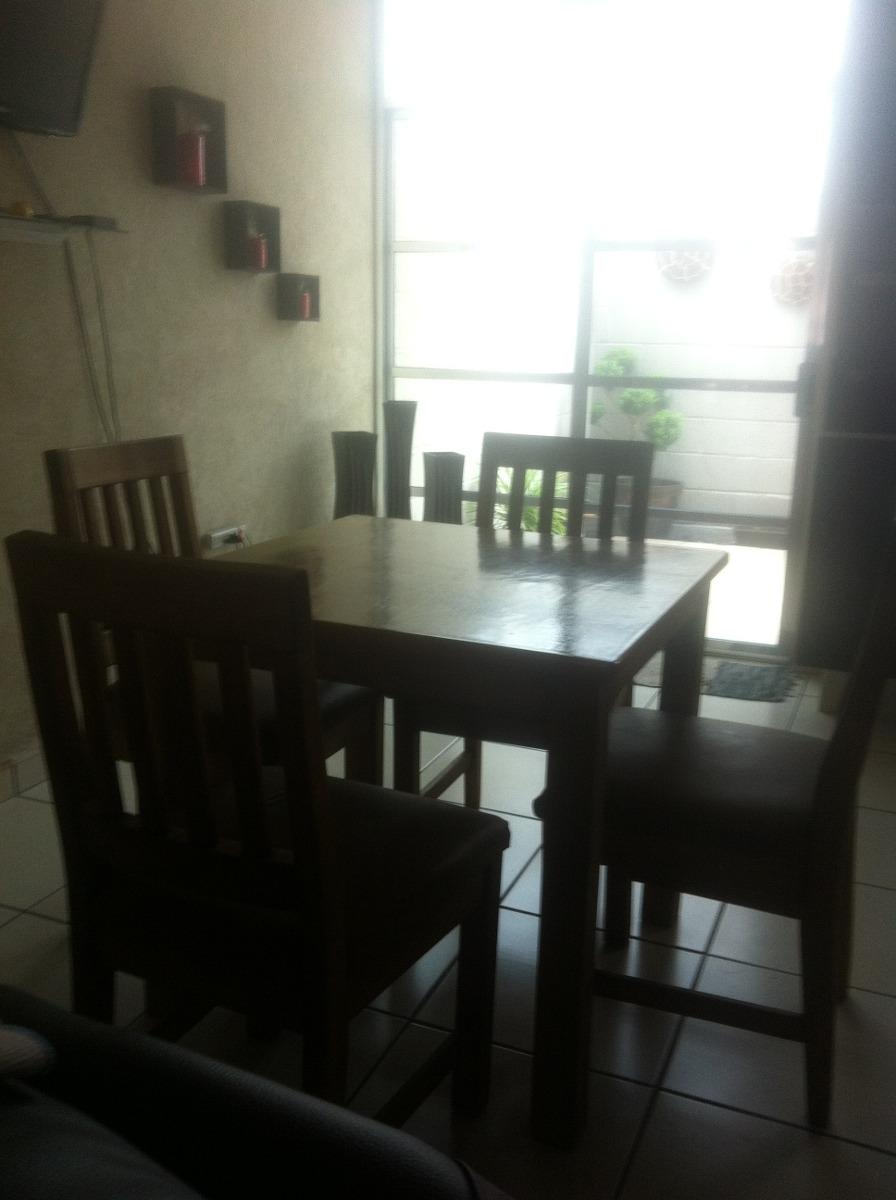 Comedor madera 4 sillas madera de calidad 3 en mercado libre for Comedor 4 sillas madera