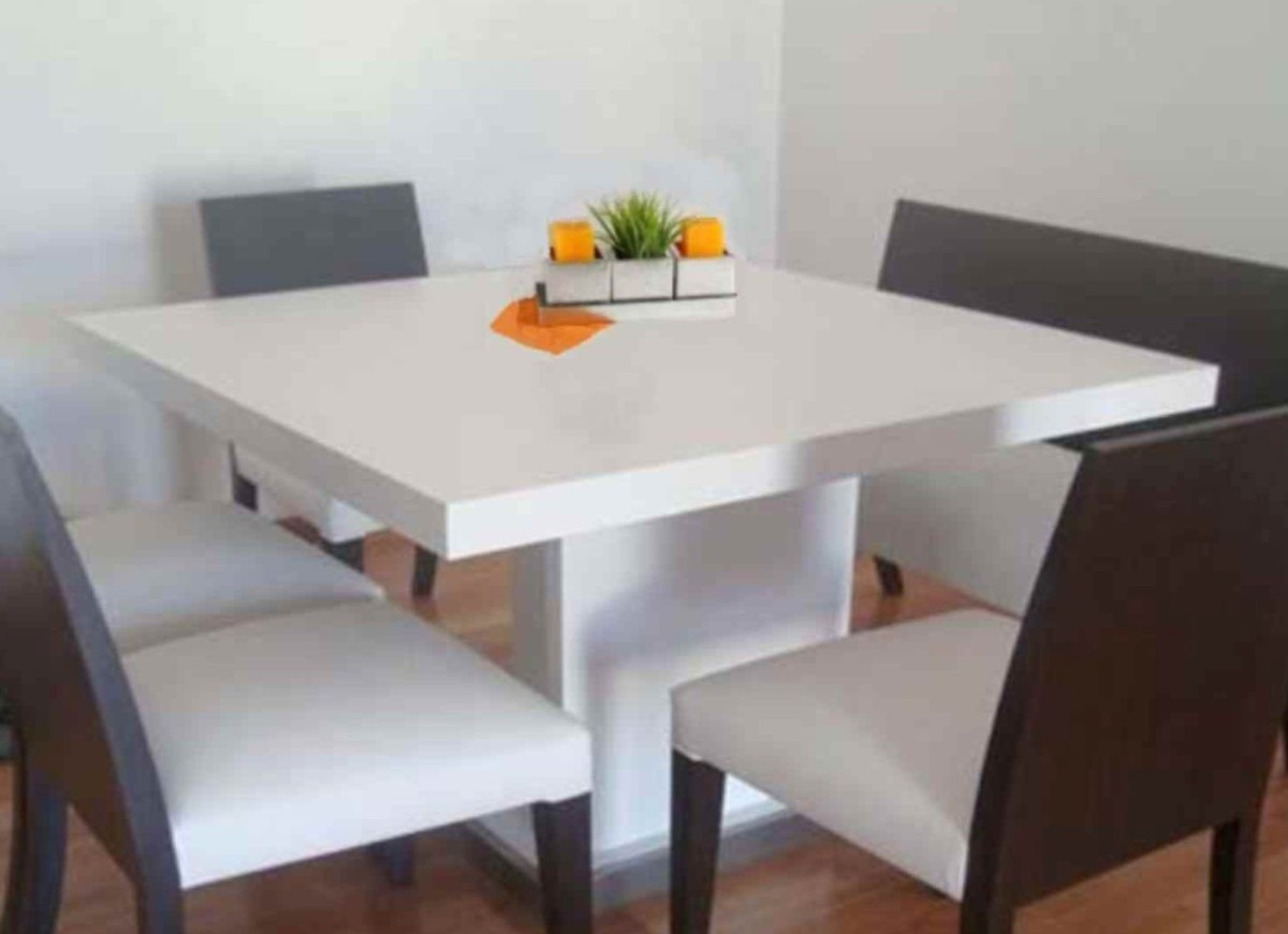 Mesas de comedor de madera modernas excellent material - Mesas modernas comedor ...