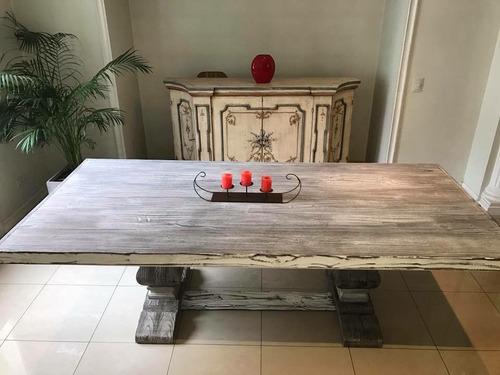 comedor madera mesa