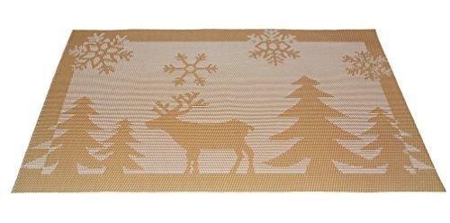 comedor manteles modelo de la navidad para la tabla de aisl