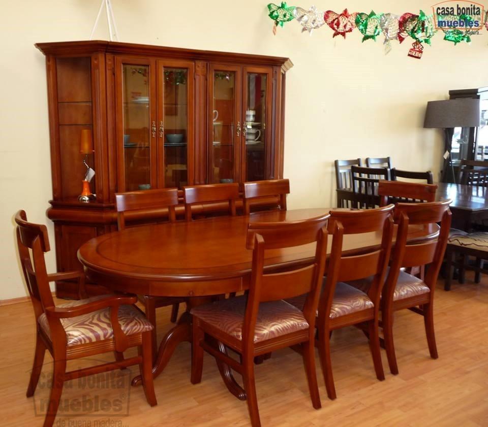 Comedor, Mesa Ovalada Tiffany Medidas 2.40 X 1.15 Mts - $ 13,940.00 ...