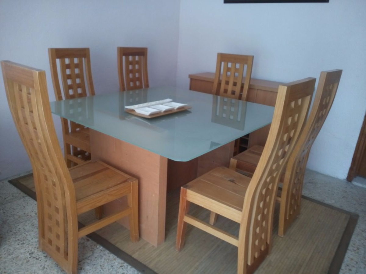 Comedor minimalista 6 sillas 4 en mercado libre - 6 sillas comedor ...