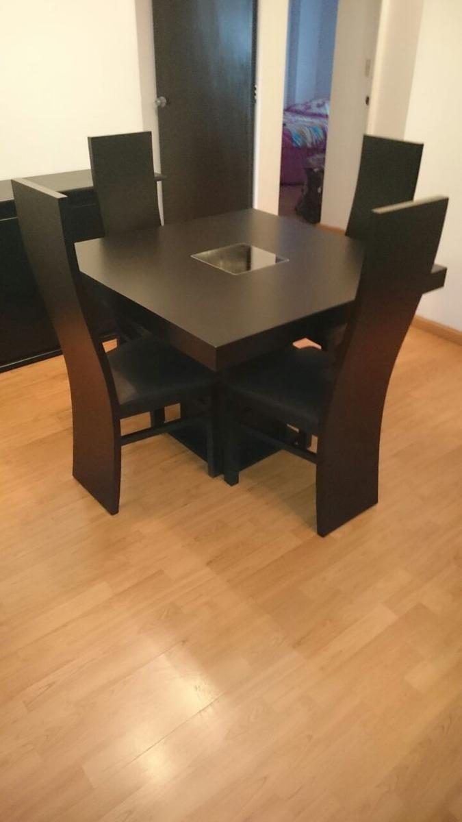 Comedor minimalista mod australia 4 sillas moderno Comedor 4 sillas moderno