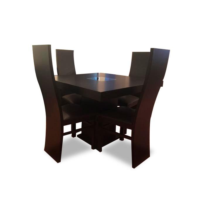 Comedor minimalista mod australia 4 sillas moderno for Comedor 4 sillas moderno