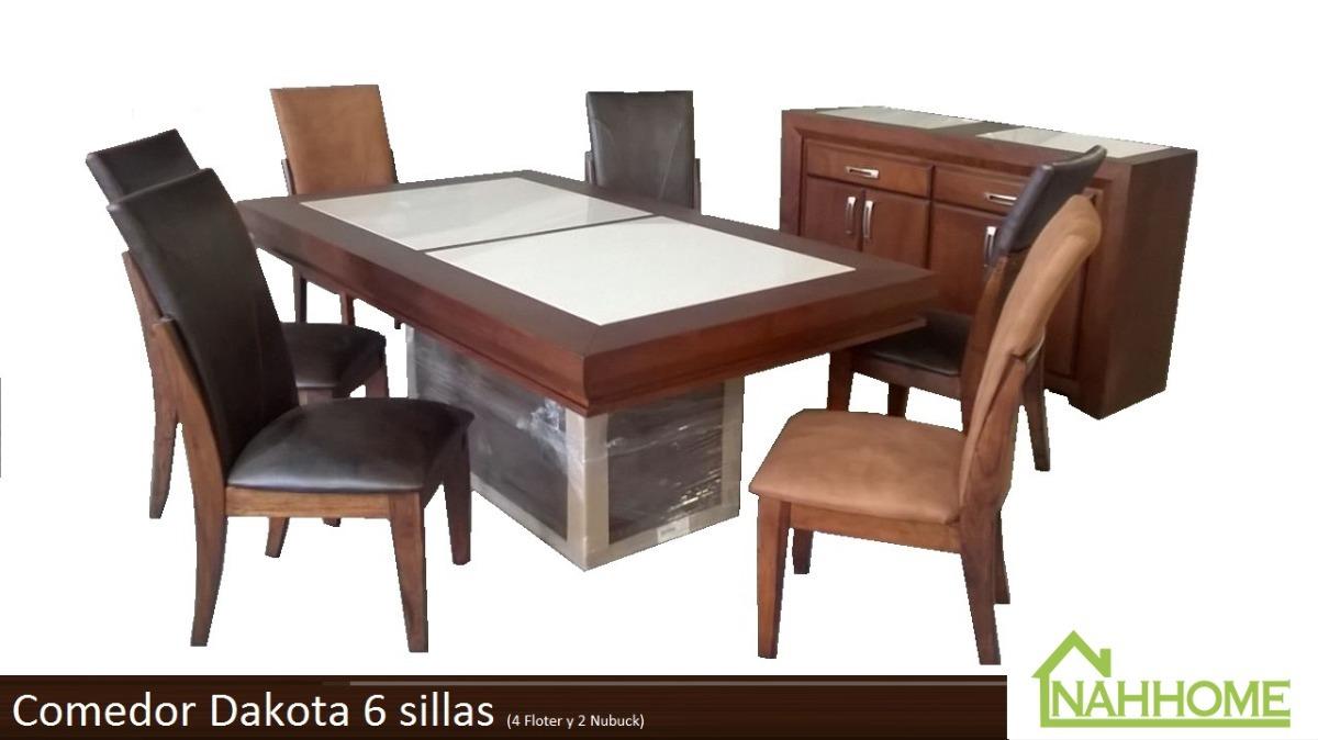 Comedor moderno dakota 6 sillas 19 en mercado libre for Comedor 6 sillas