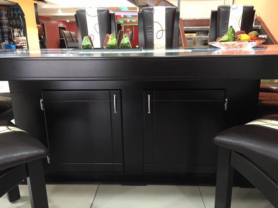 Comedor moderno rectangular 8 sillas 18 en for Comedor 8 sillas usado