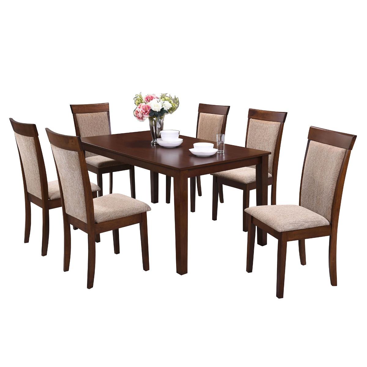 Comedor nantes 6 sillas env o gratis en santiago for Comedor 6 sillas usado