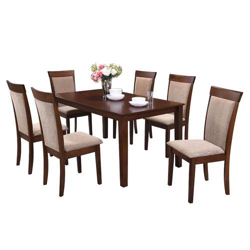 comedor nantes + 6 sillas - envío gratis en santiago