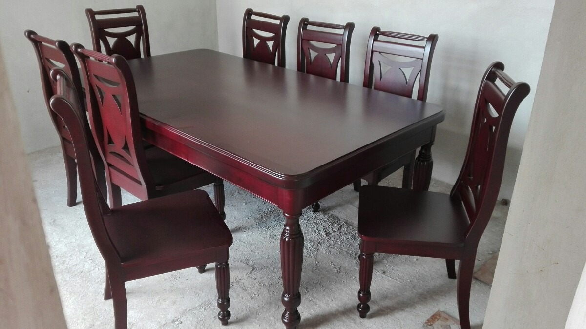 Beautiful venta de sillas de madera para comedor for Comedores 8 sillas chile