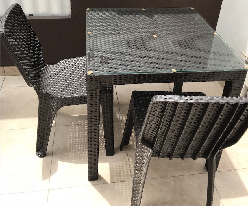 Comedor Para Terraza Home Collection Mesa + 4 Sillas - S/ 550,00 en ...