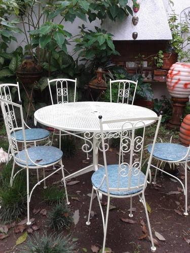 Comedor para terraza y jard n 7 en mercado libre - Comedor de terraza ...