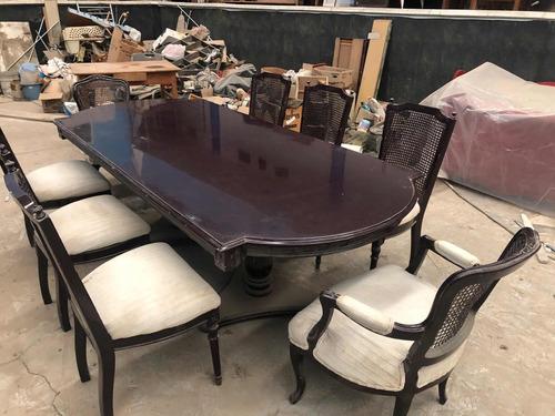 comedor provenzal de 12 sillas usado