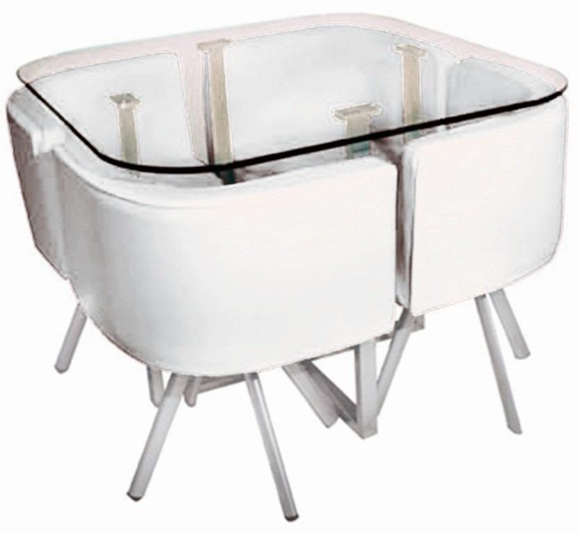 Comedores modernos de 8 sillas de vidrio for Juego de comedor 4 sillas moderno