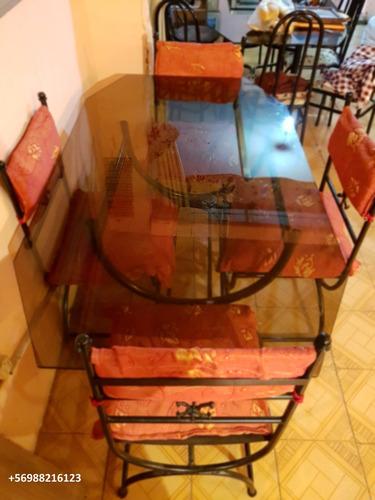comedor sillas (vidrio)
