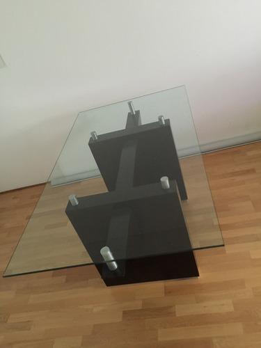 comedor vidrio mesa