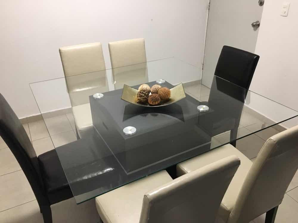 Comedor Vidrio Templado - $ 7,000.00 en Mercado Libre