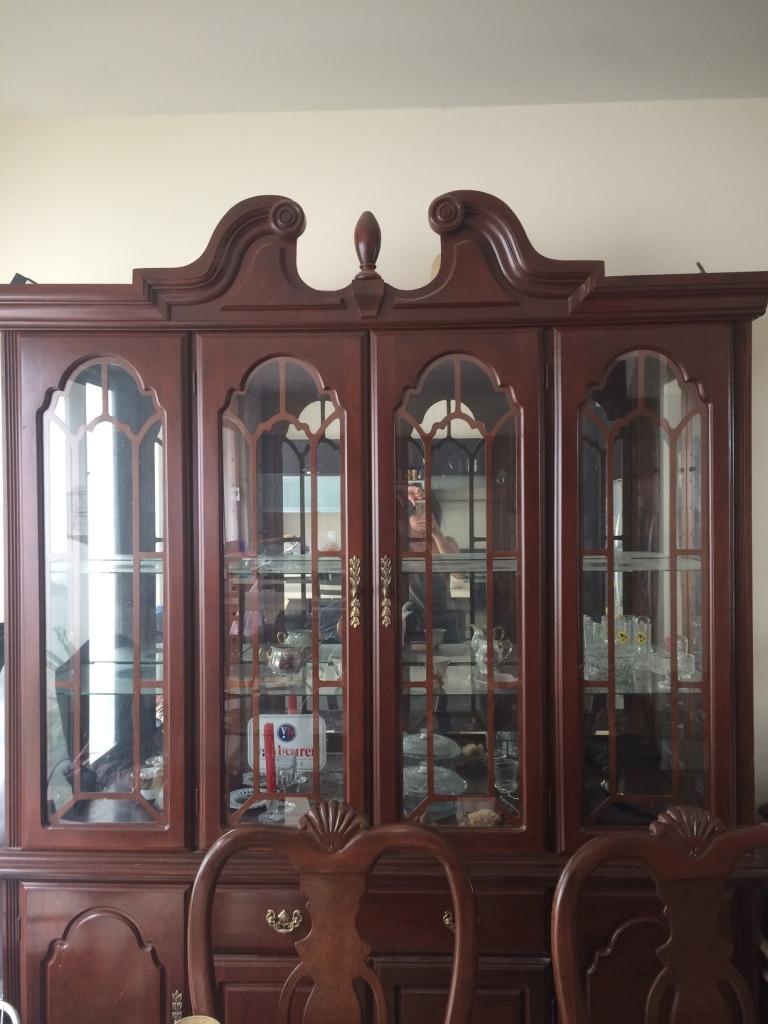 Comedor y vitrina de muebles frey 28 en mercado - Vitrina de comedor ...