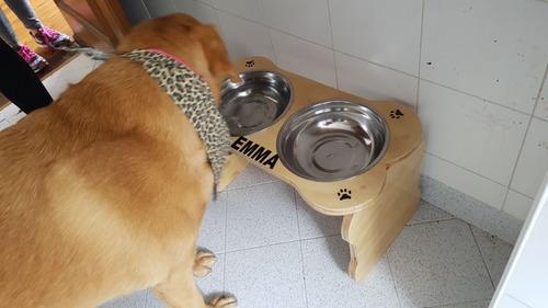 comedor/comedero y bebedero para perritos