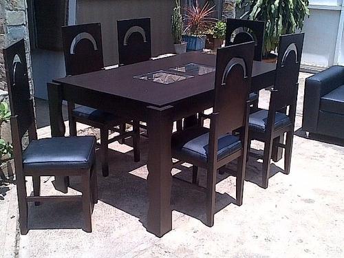 comedore  6 puestos  muebles e inmuebles ediomar y mas