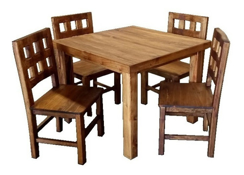 comedores azteca rústicos mesas sillas excelente calidad