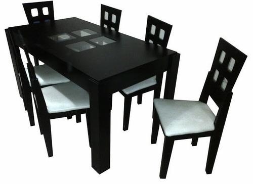 comedores de 6 puestos capri mesas sillas cojines  puff