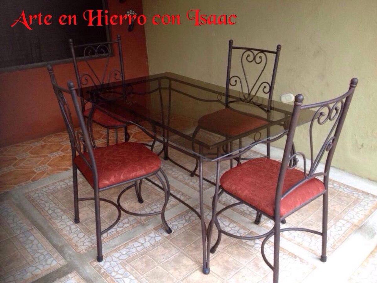 Comedores De Hierro Forjado - ¢ 155,000.00 en Mercado Libre