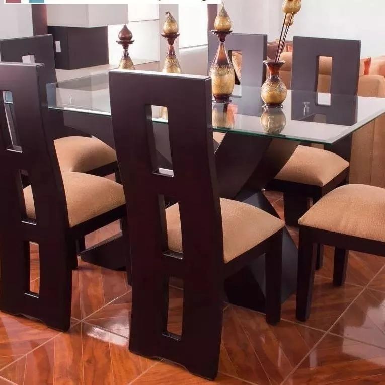 Comedores Modernos De 6 Sillas Fábrica En Anzoategui - Bs. 800,00 en ...