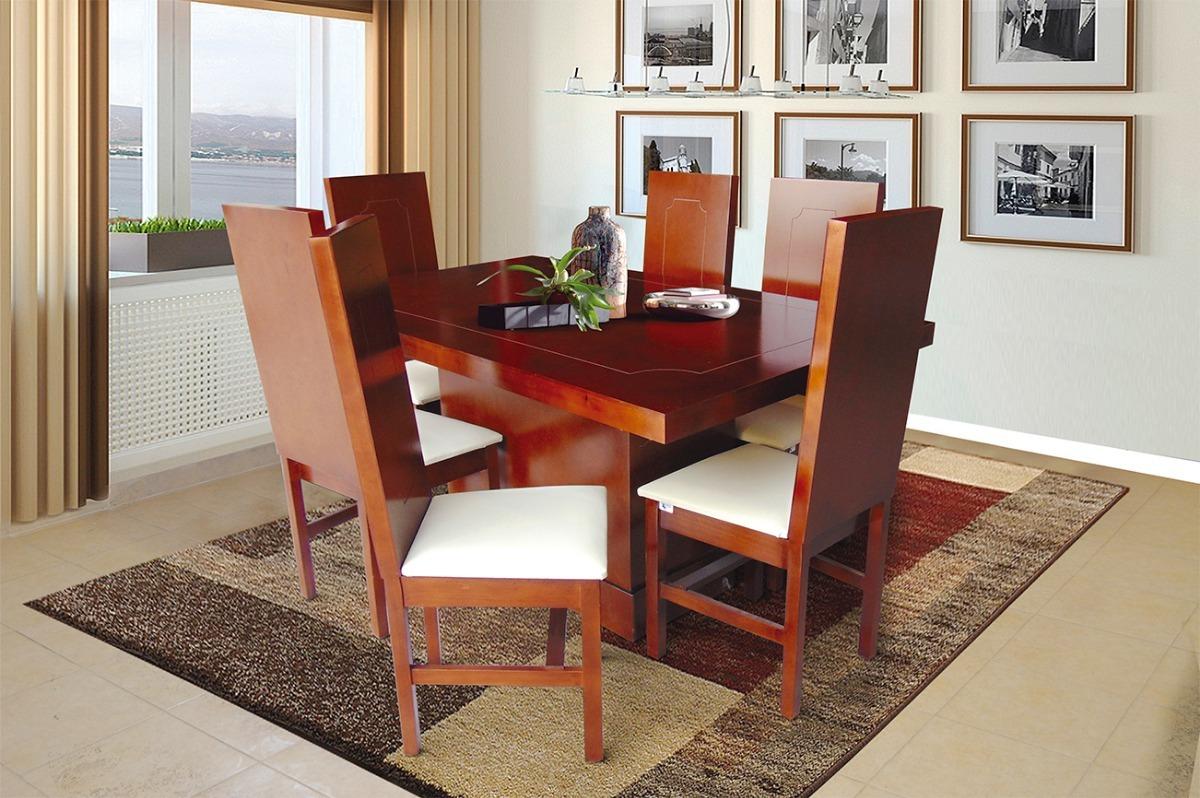Comedores modernos minimalistas baratos rusticos 6 sillas for Muebles comedor baratos online